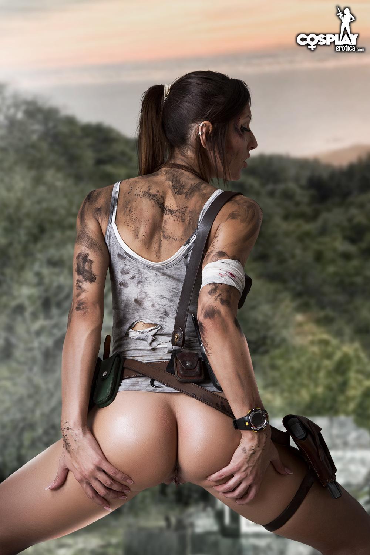 Lara croft porno vid