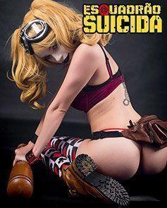 Arlequina Pornô do Esquadrão Suicida