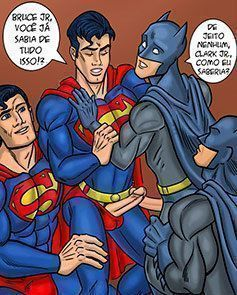 Batman vs Superman Gay