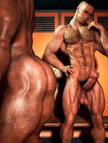 Coletânea 3D pornô gay