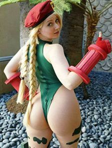 Cosplay da Cammy do Street Fighter