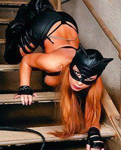 Cosplay Pornô da Mulher Gato