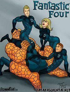 Quarteto Fantástico em uma aventura Gay