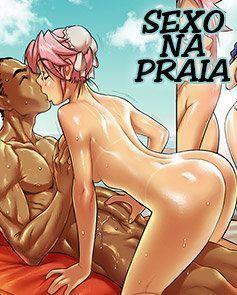 Sexo na Praia com Gostosas